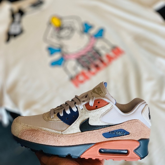 NIKE AIR MAX 90, ICE CREAM FLANNEL, BBC MANY PACK NWT
